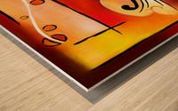 Vioselinna - violin backed beauty Wood print