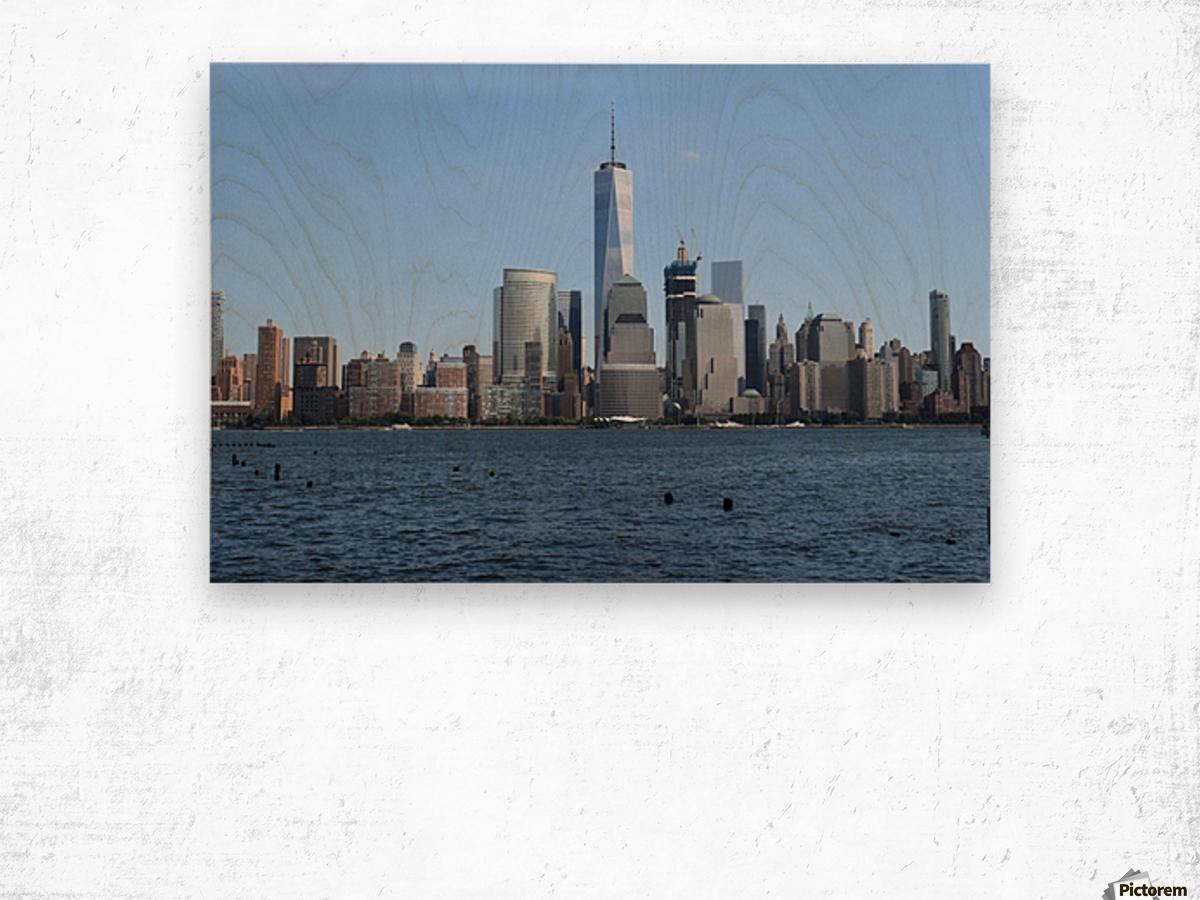 MANHATTAN, NEW YORK Wood print