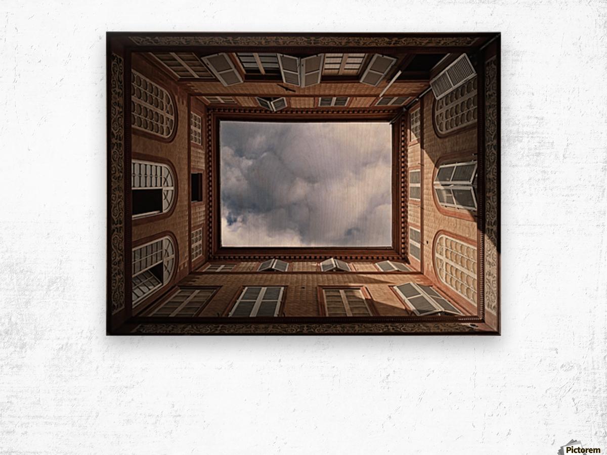 The Sky....... Wood print