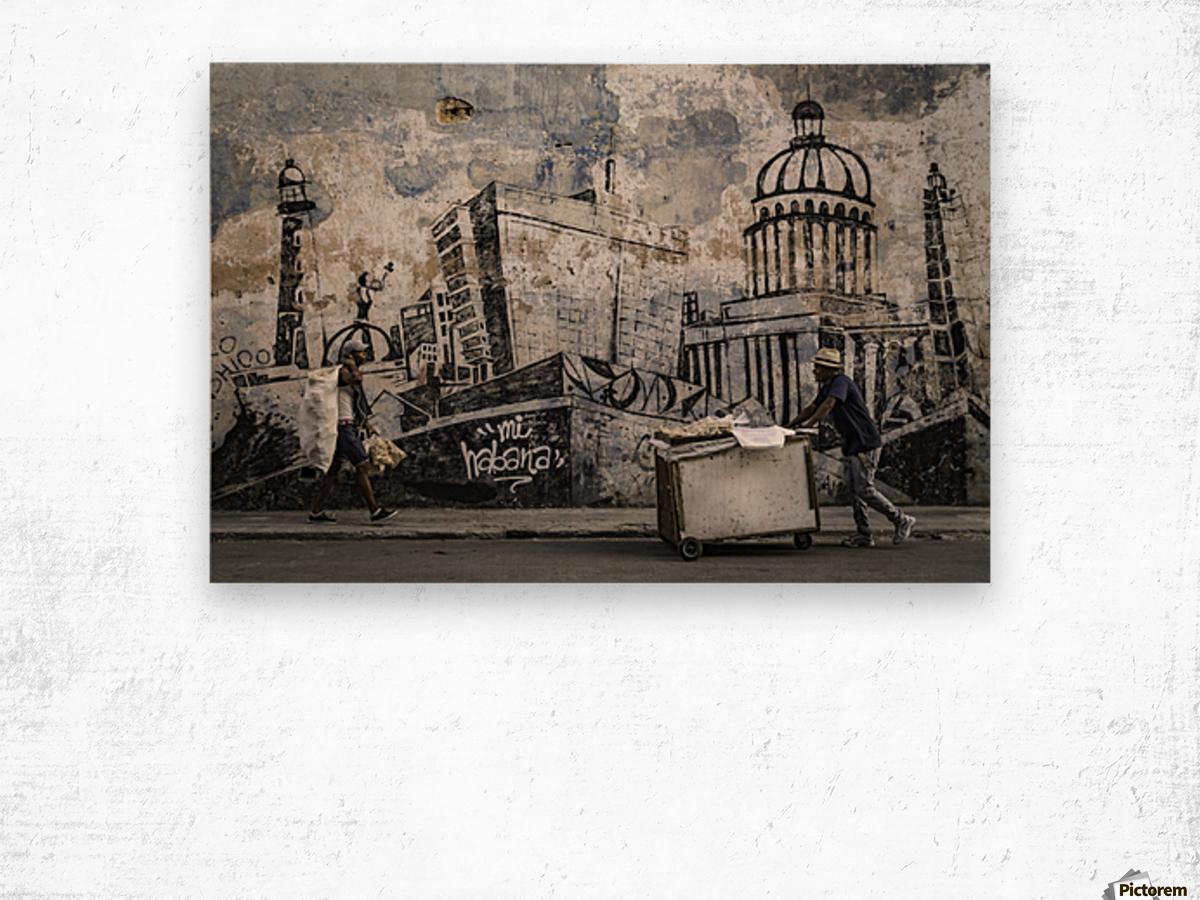 Mi Habana Impression sur bois