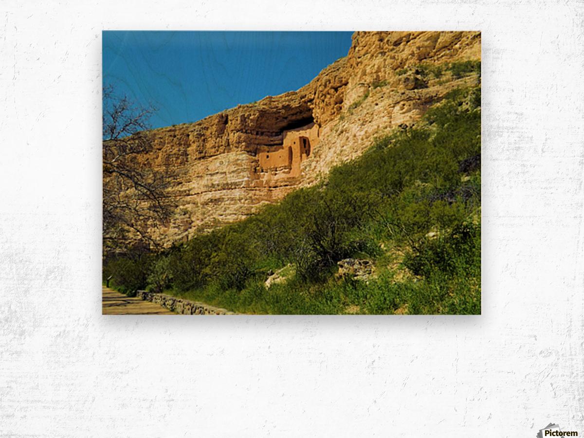 Montezuma's Castle  Impression sur bois