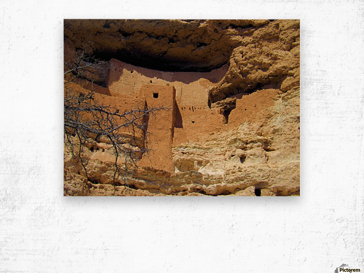 Montezuma's Castle-12 Impression sur bois