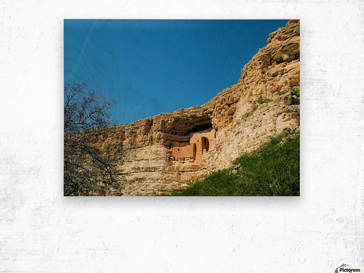 Montezuma's Castle-10 Wood print