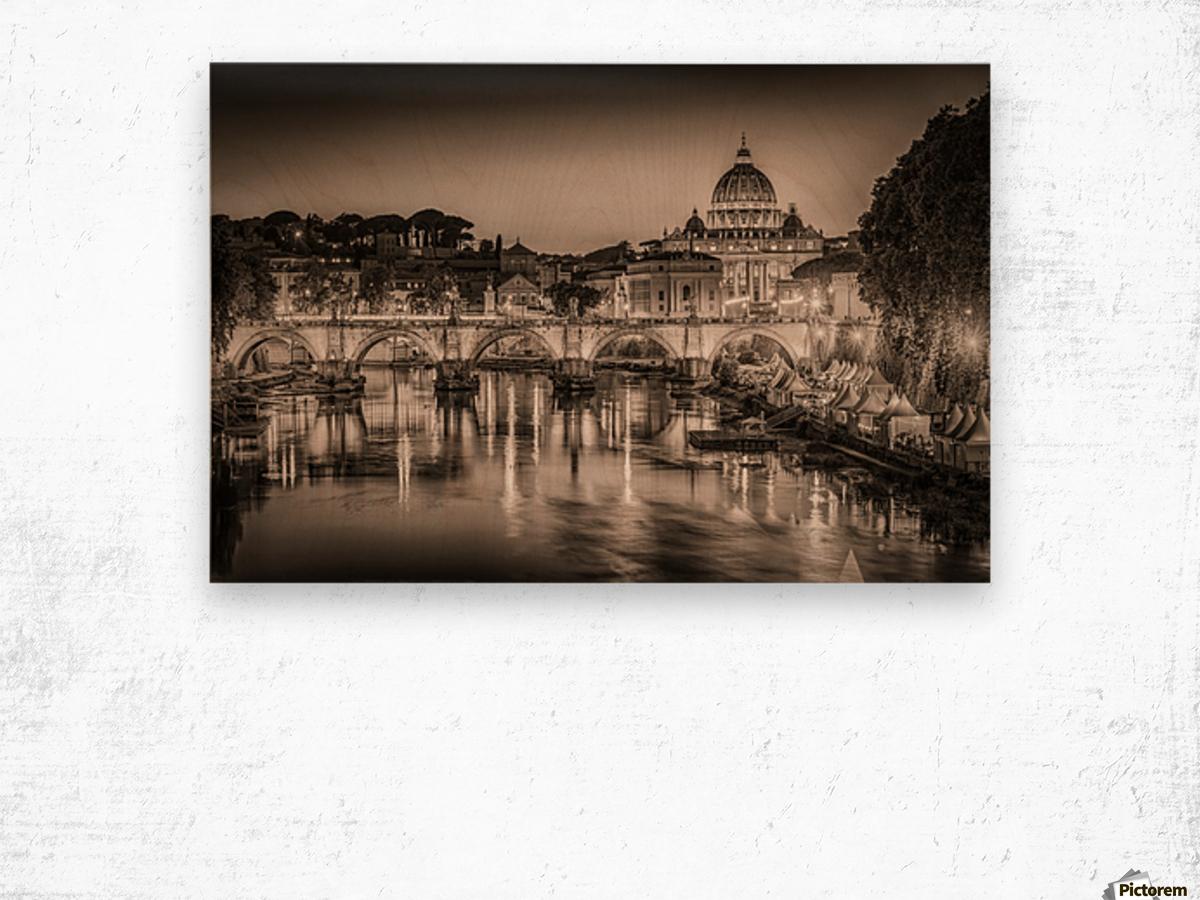 Rome Wood print