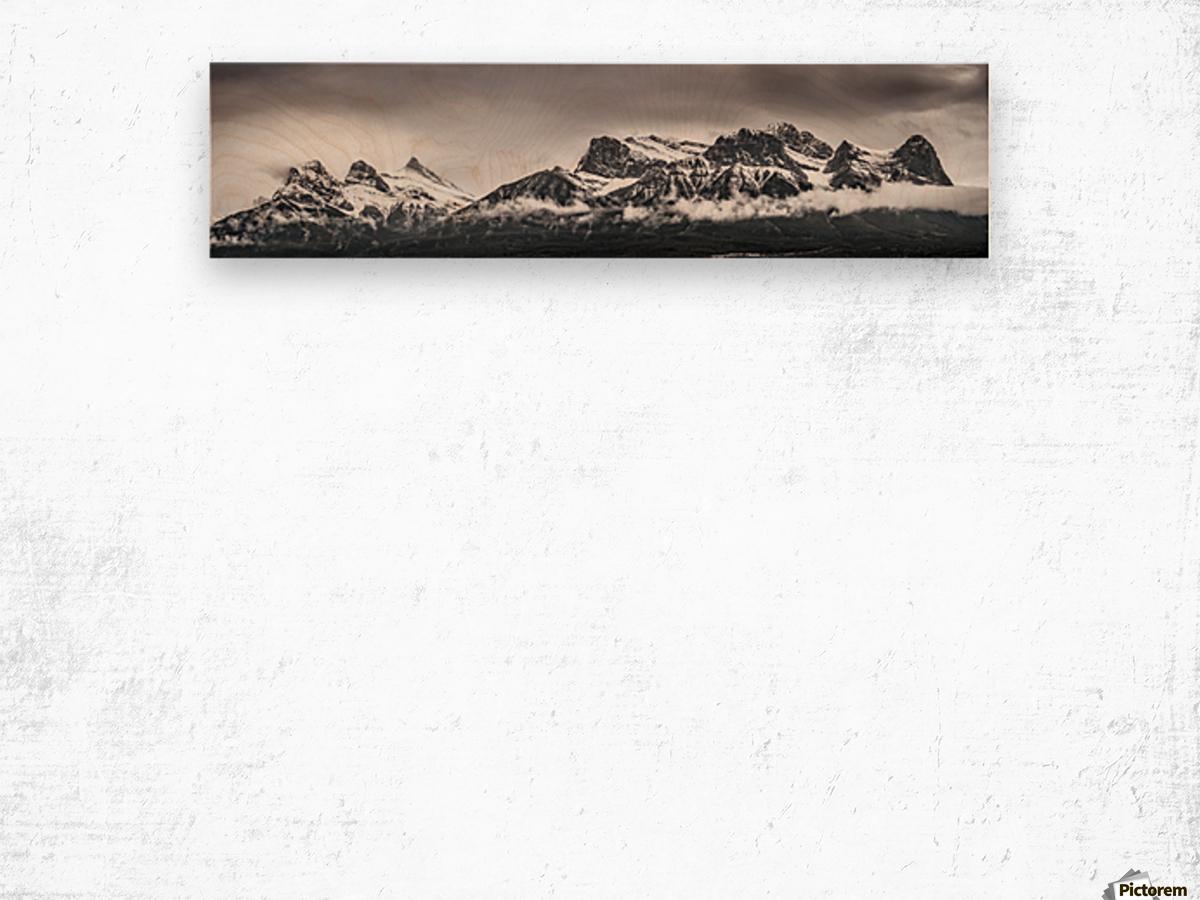 CanmoreWinter Wood print