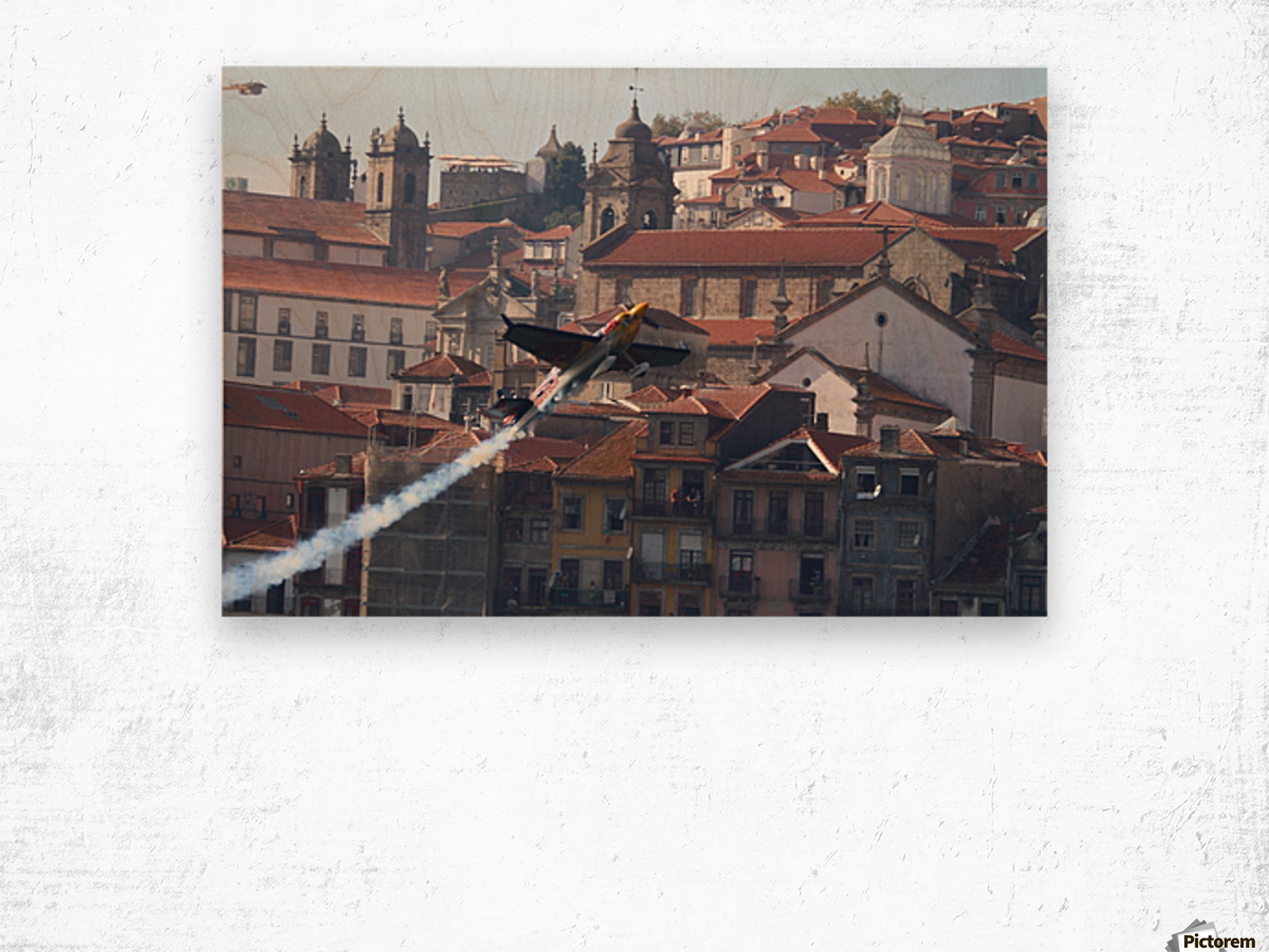 Oporto Red Bull Air Race 2017 Wood print
