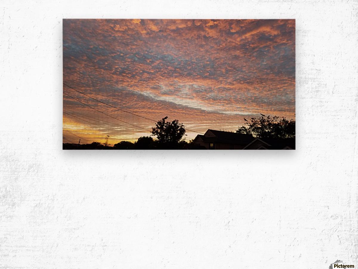 God's Masterpiece Wood print