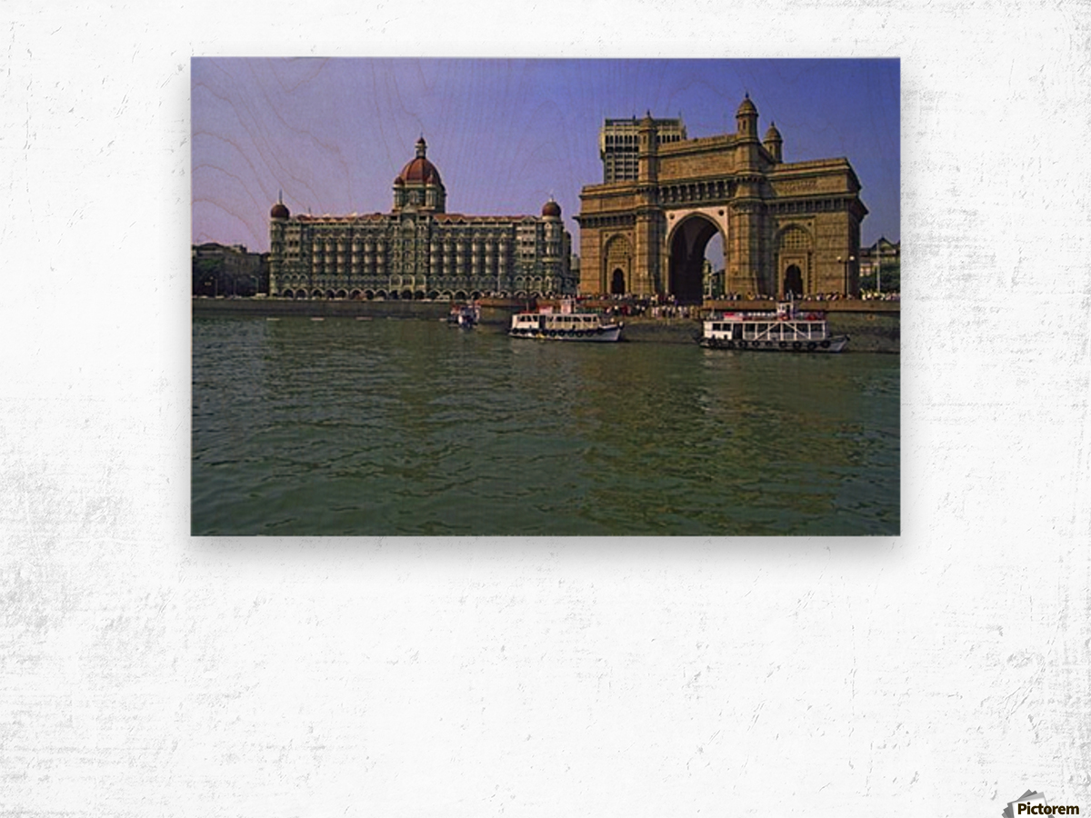 West India Tour Wood print