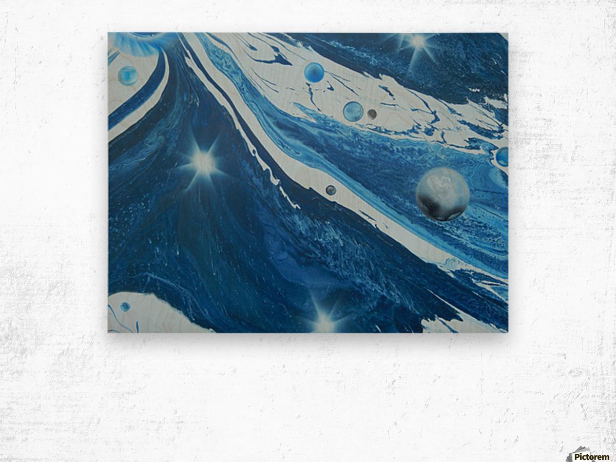 STAR MAKER Wood print
