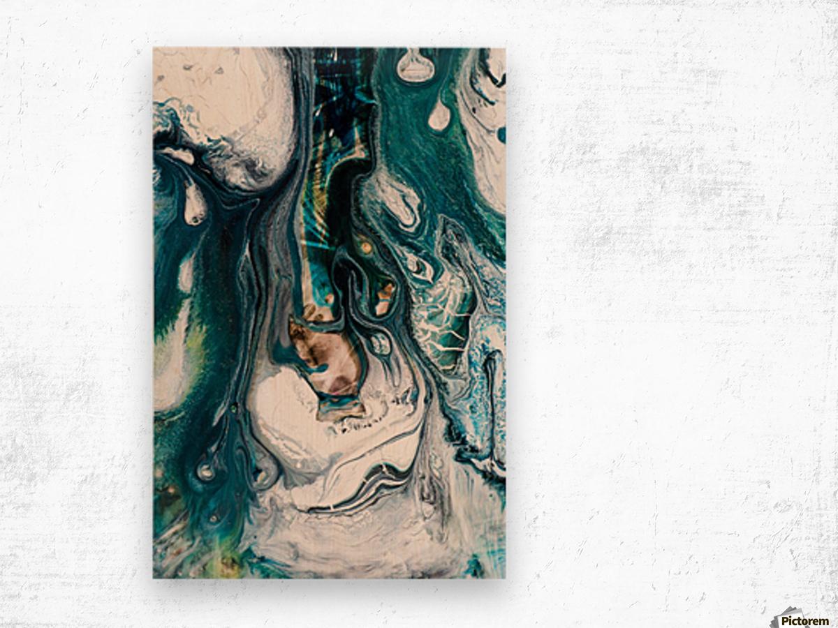 abst Wood print