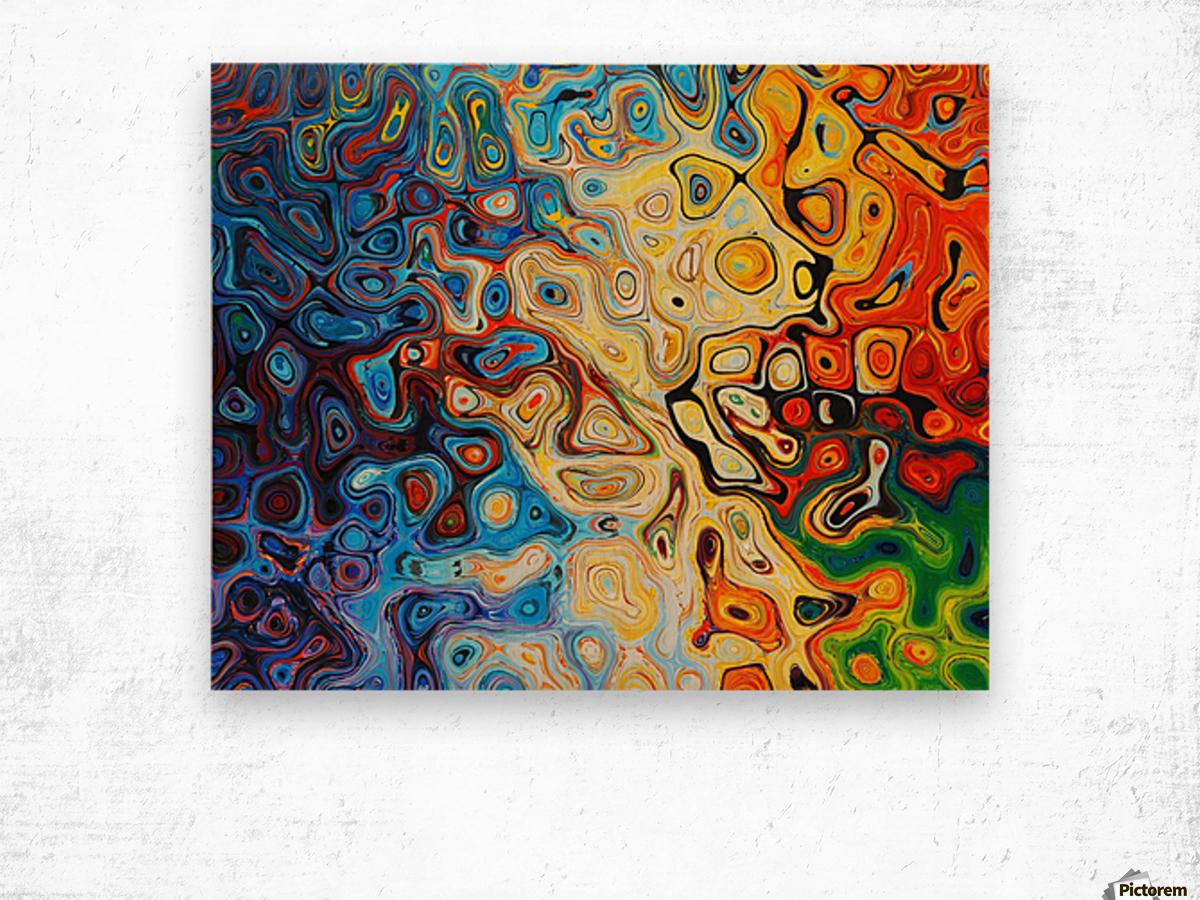 background Wood print