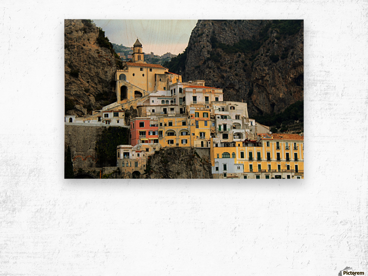 Amalfi  Old Town - Italy Wood print