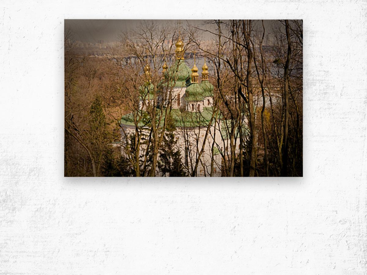 Eastern Orthodox Church in Kiev Wood print
