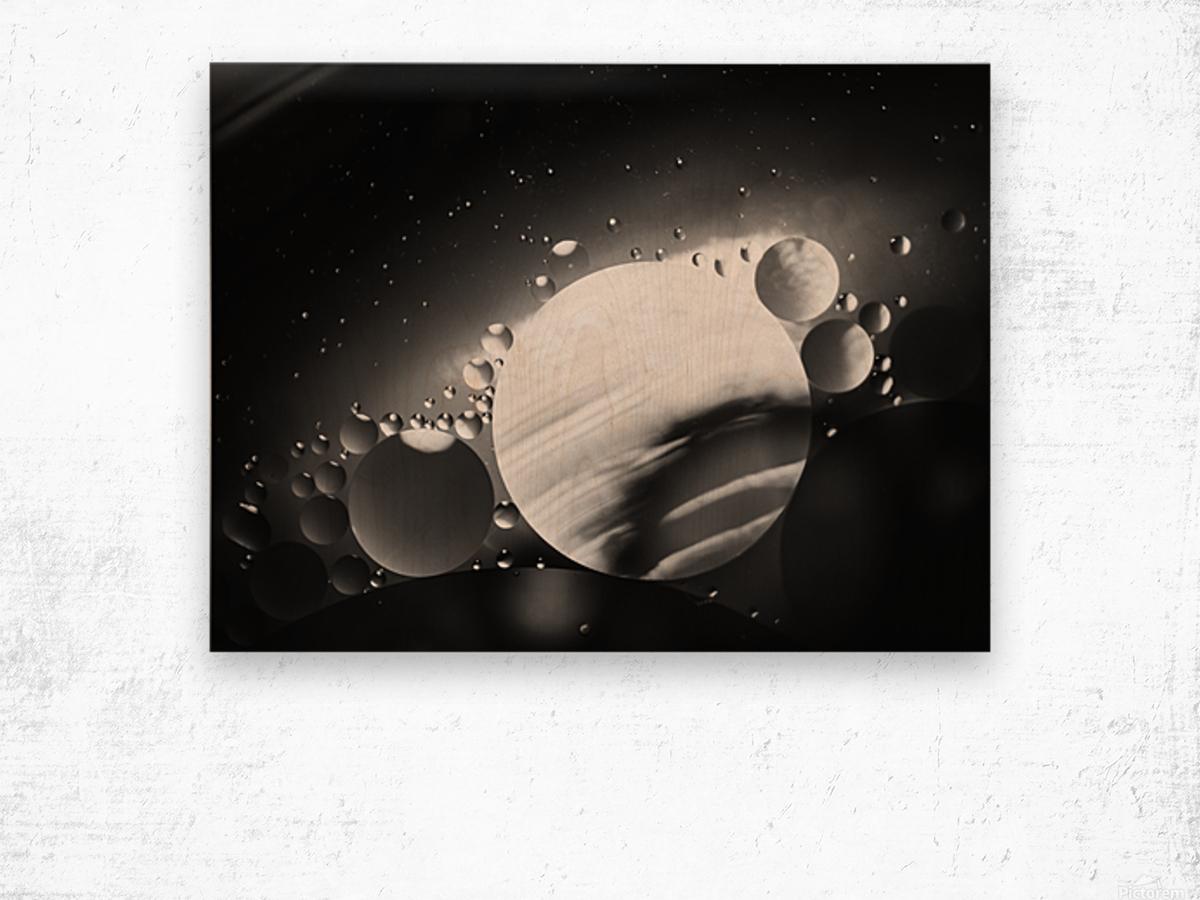 Micro Galaxy - Micro Galaxie Impression sur bois