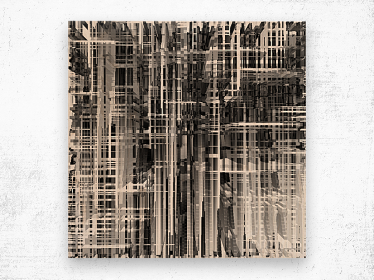 Construction Wood print