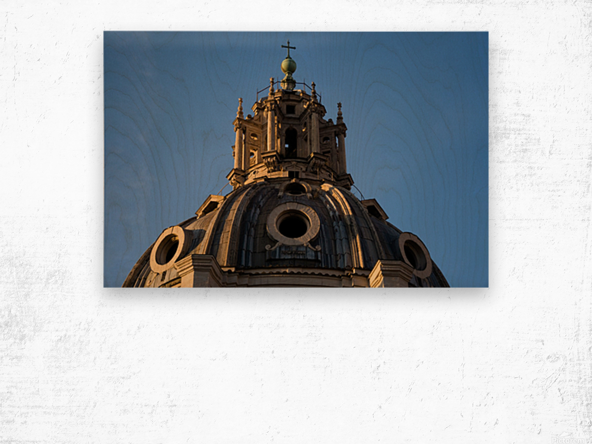 Italy with love Wood print