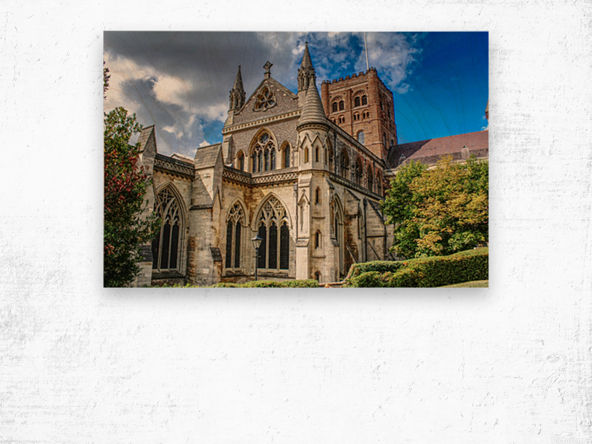 The Cathedral - England Landmarks Wood print