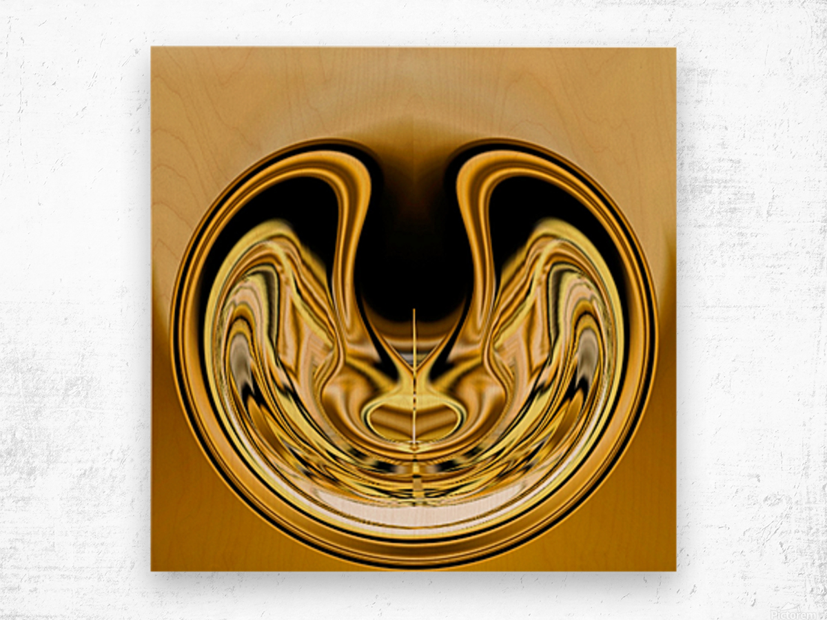 GoldTone1 Wood print