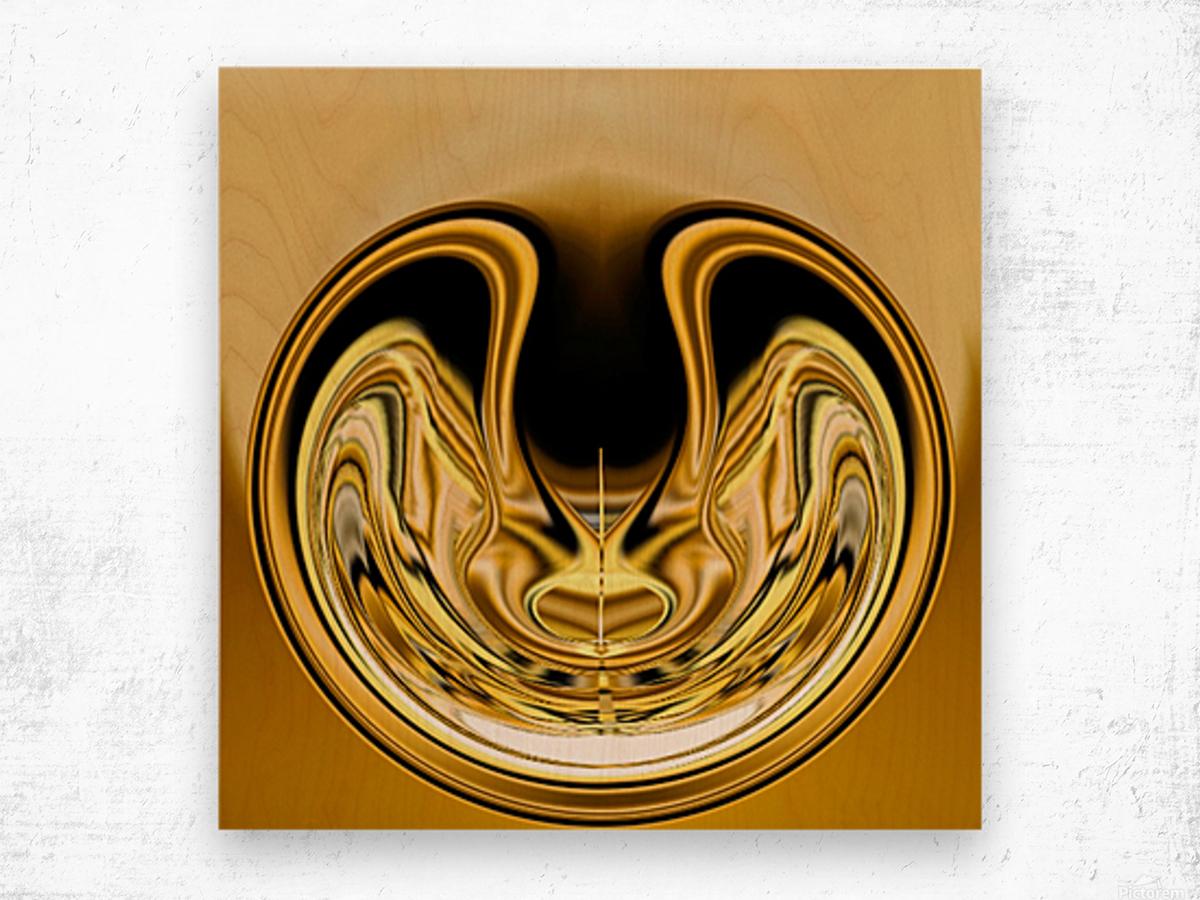 GoldTone1 Impression sur bois