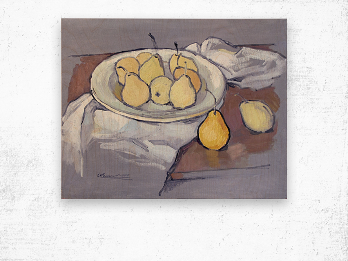 Pears-2 Wood print