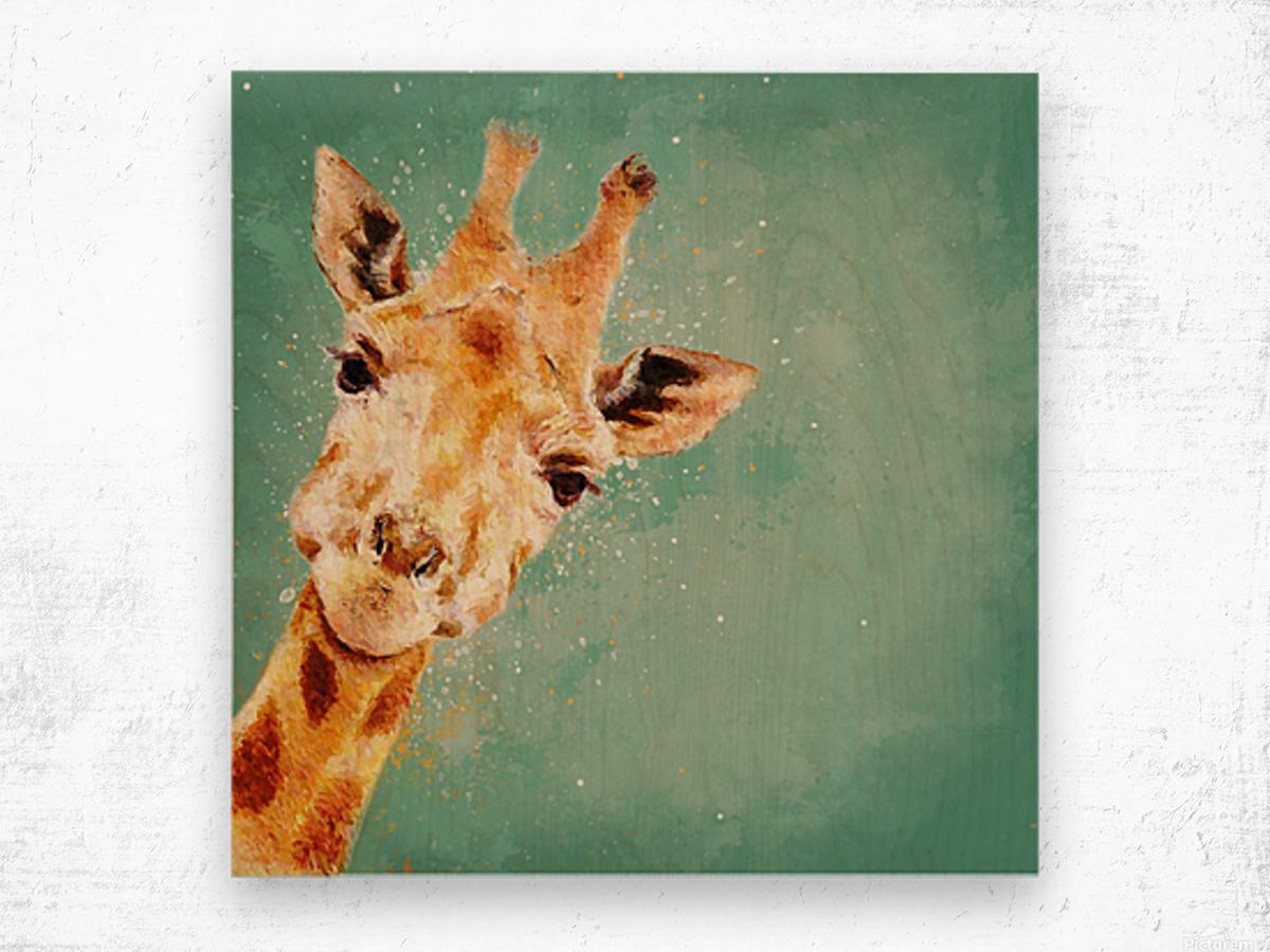 Girafeau Wood print
