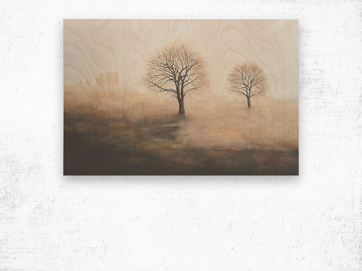 Foggy Wood print