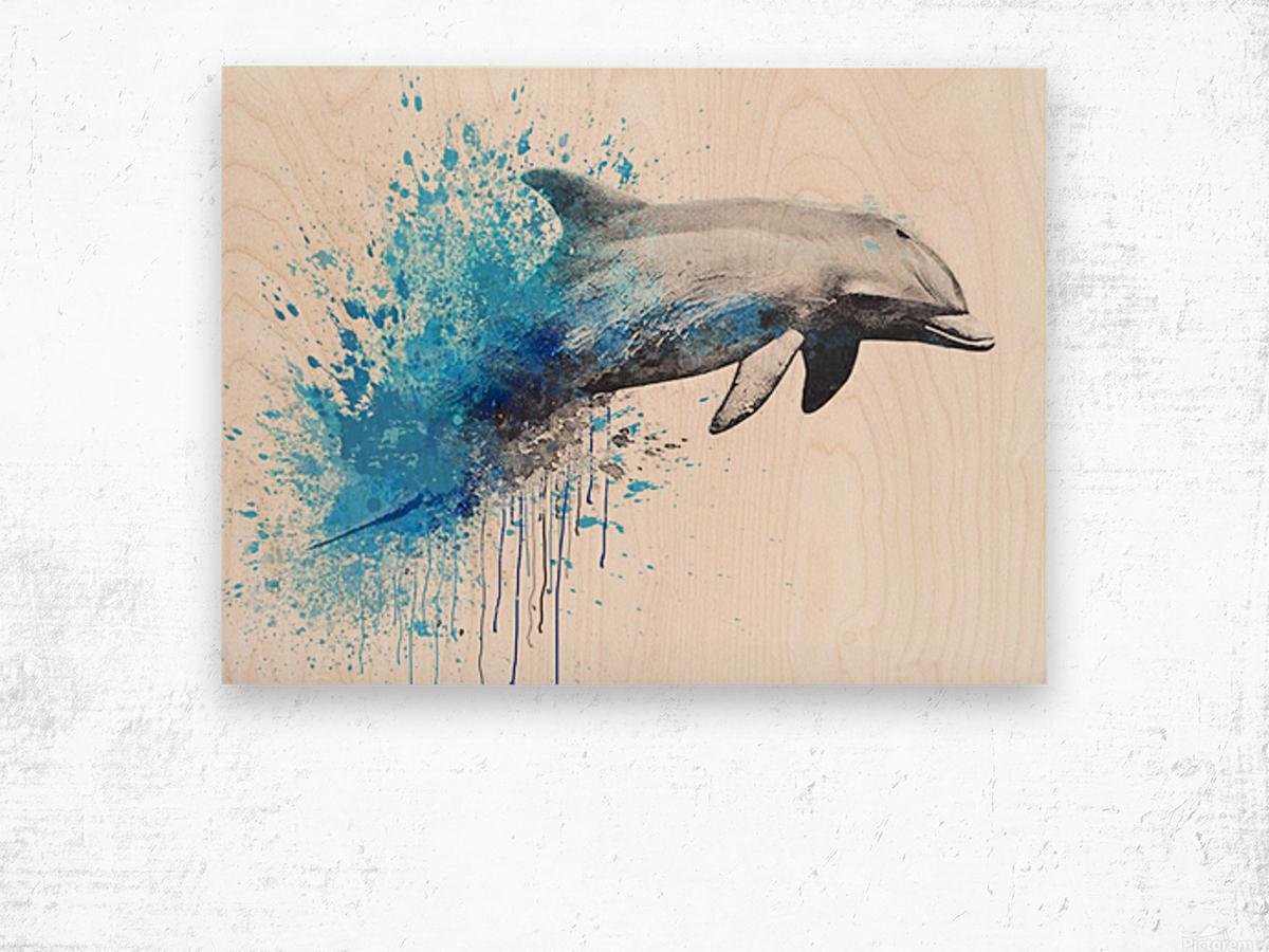 dauphin Wood print