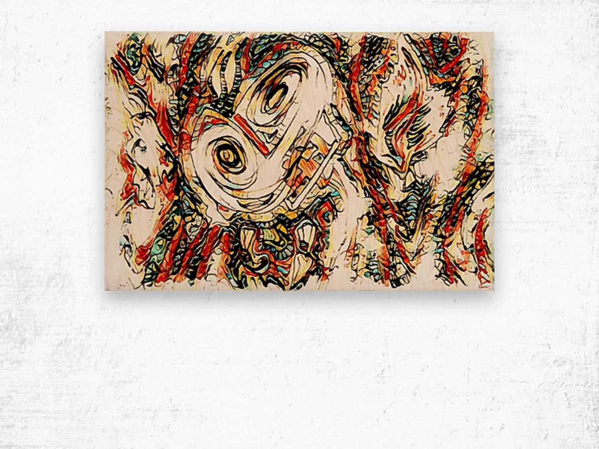 vafle Wood print