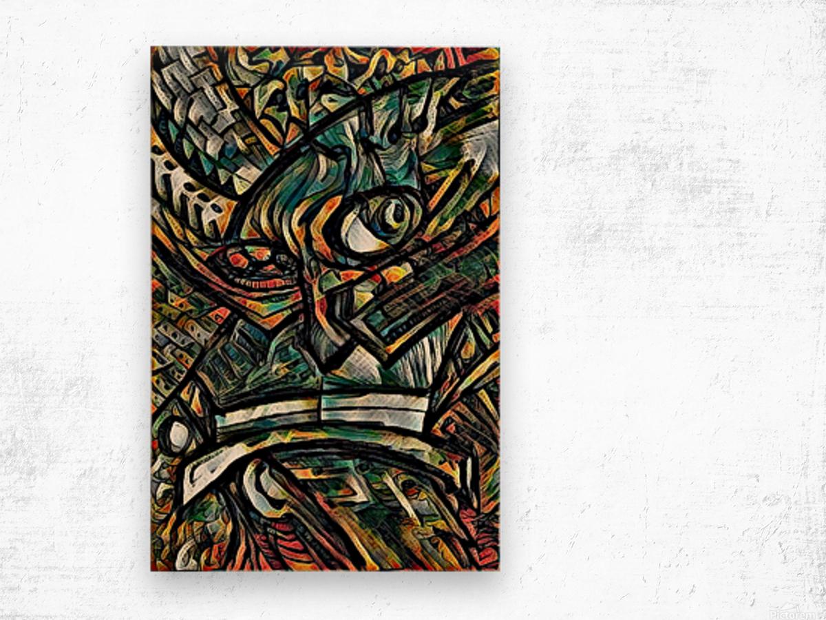 fargoeke Wood print