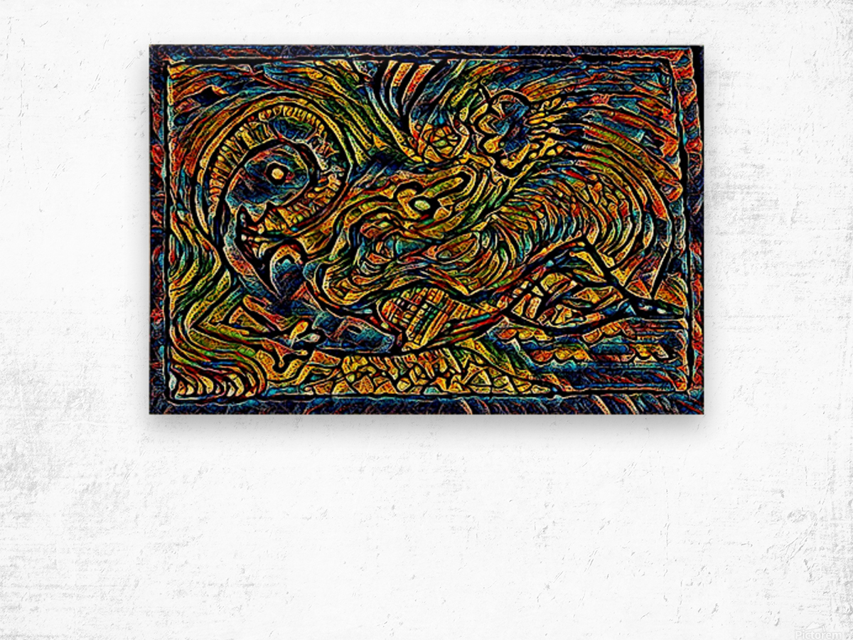 nermind  Wood print