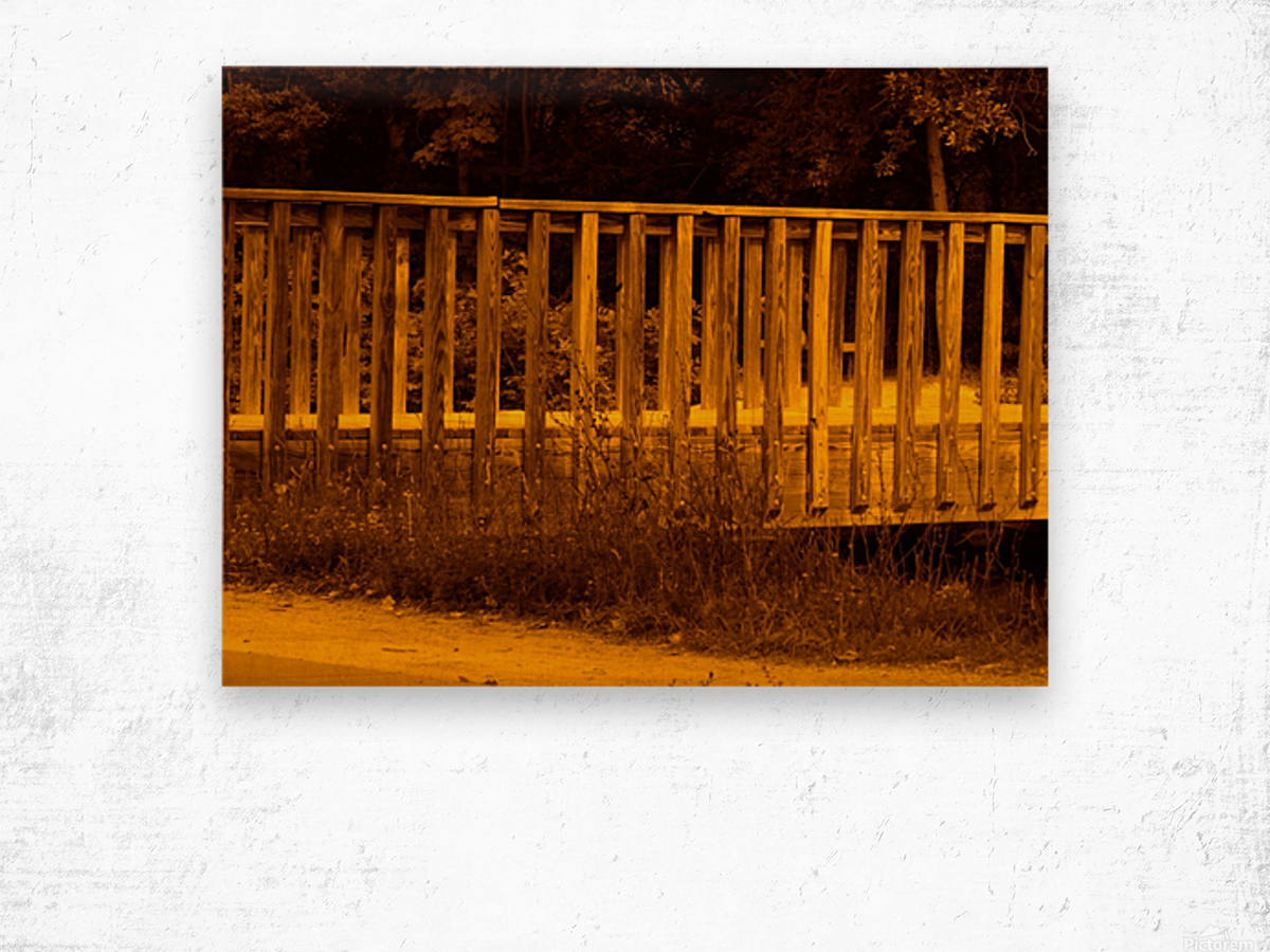 G (14) Wood print