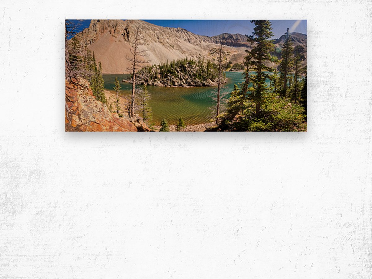 Lake Agnes Colorado  Impression sur bois