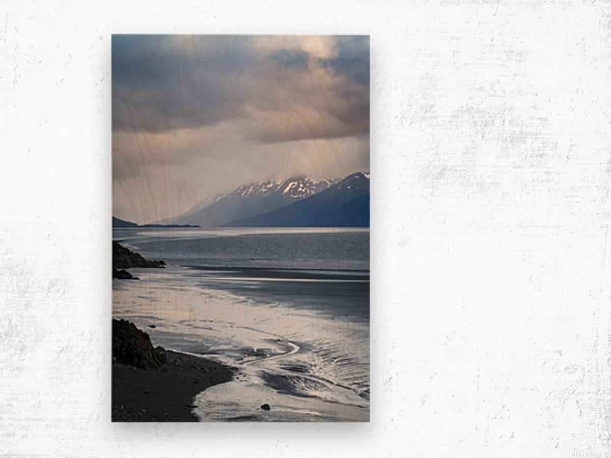 Authentic Alaska Wood print