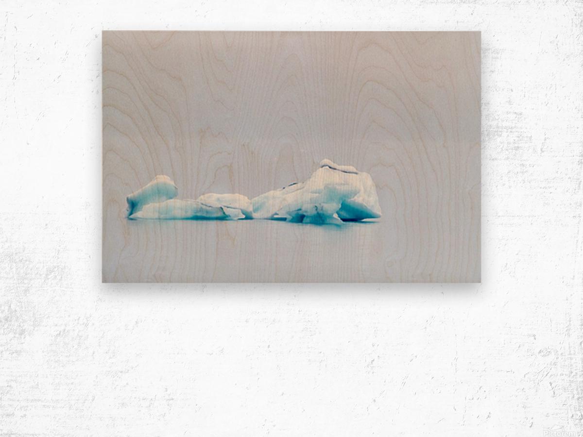 Iceberg Images - Alaska Impression sur bois