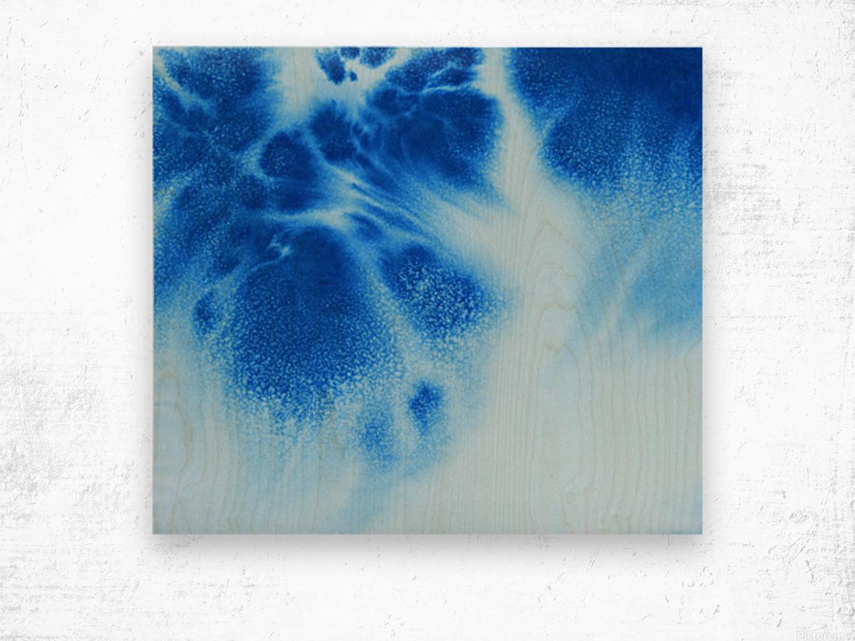 Afternoon Clouds Wood print