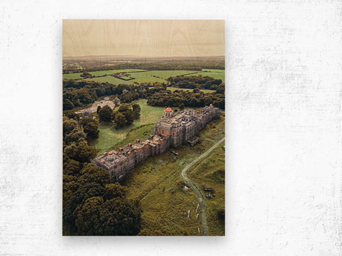 The Devils Palace  Wood print