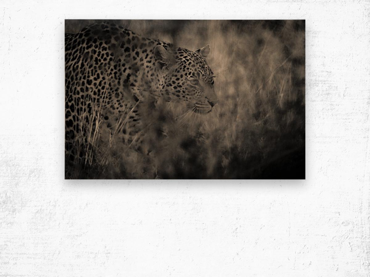 Hunter Wood print