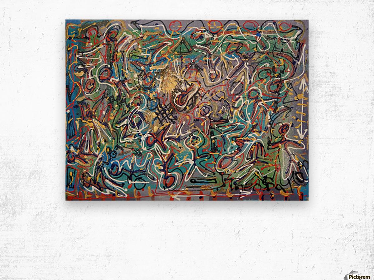 Mystic Carnival Wood print
