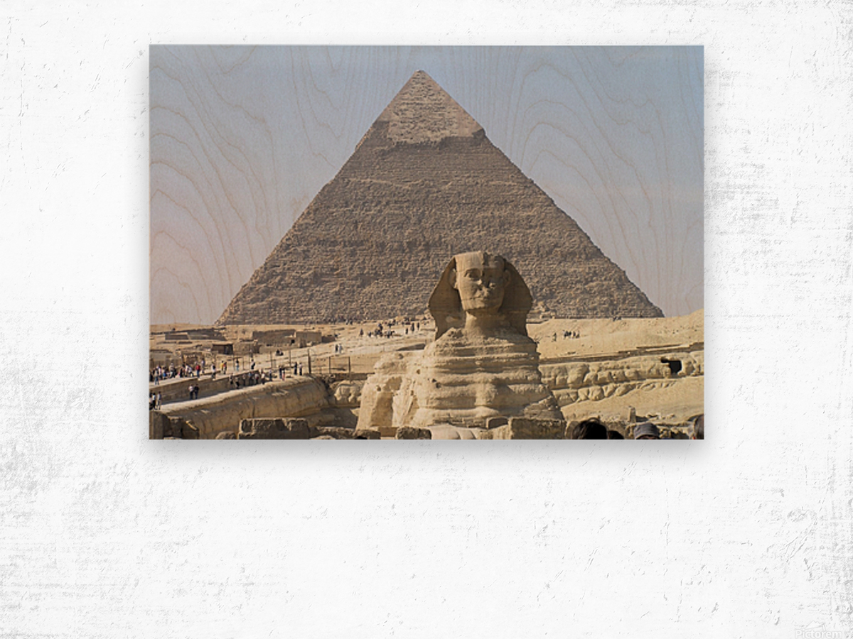 Egypt 3 Wood print