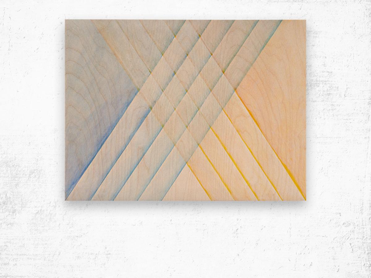 CLARITY Wood print