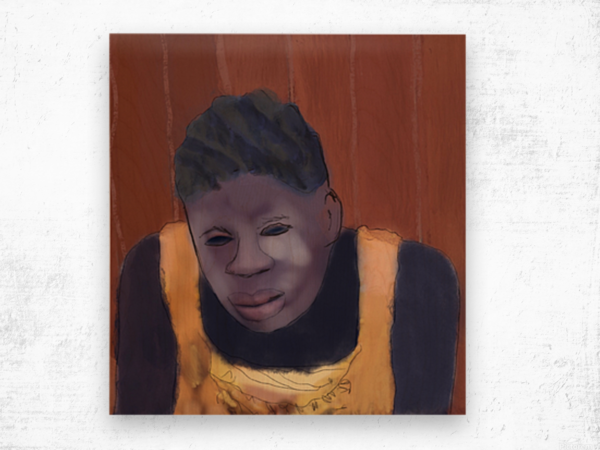 Whitney Plantation Slave Girl 4 Wood print