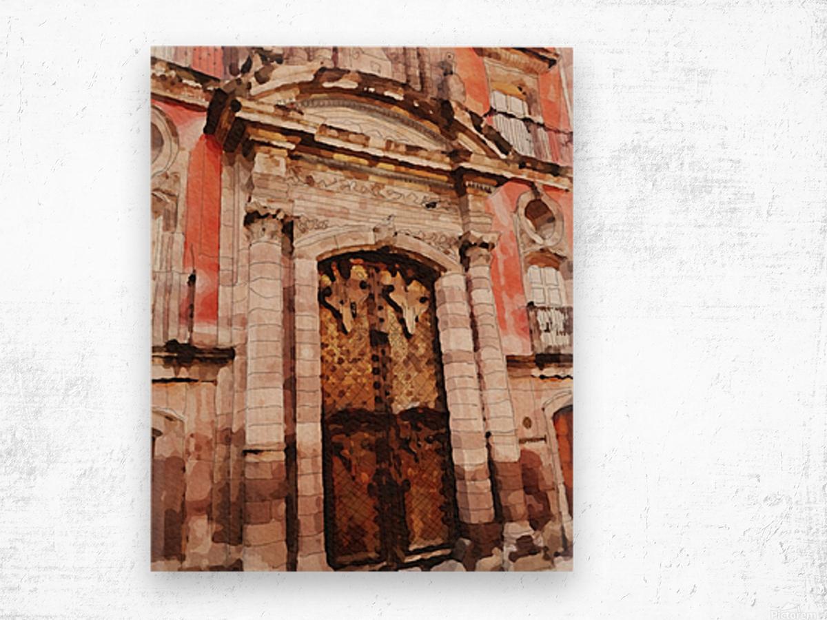 México La Casa del Mayorazgo San Miguel de Allende Impression sur bois