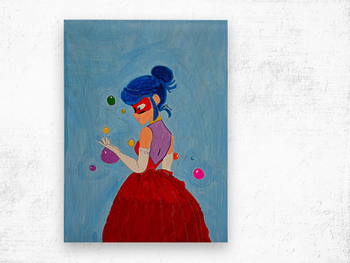 Elegant Ladybug. DaVere h. Wood print
