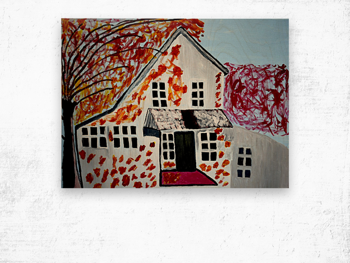 Autumn Day. Cindy A Wood print
