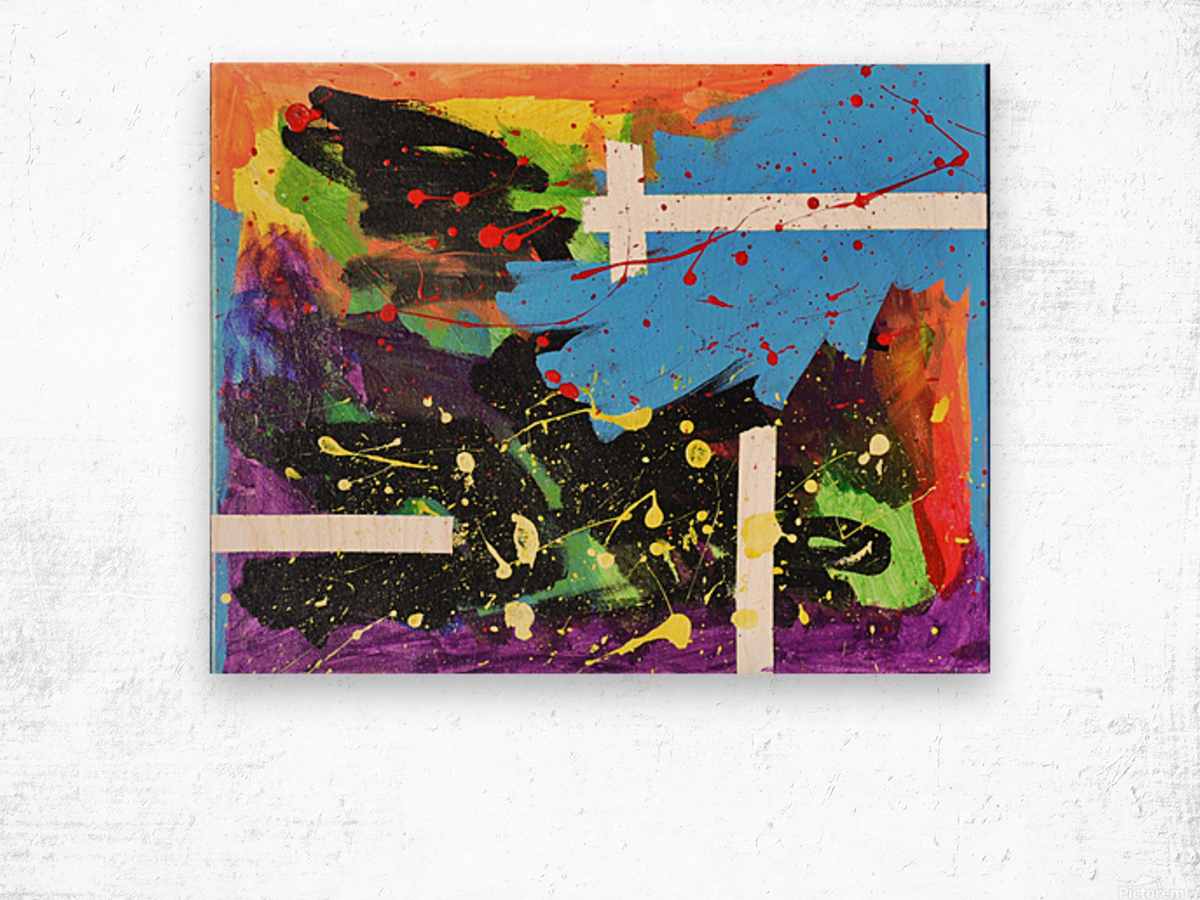 Bright Abstract. Walker W. Wood print