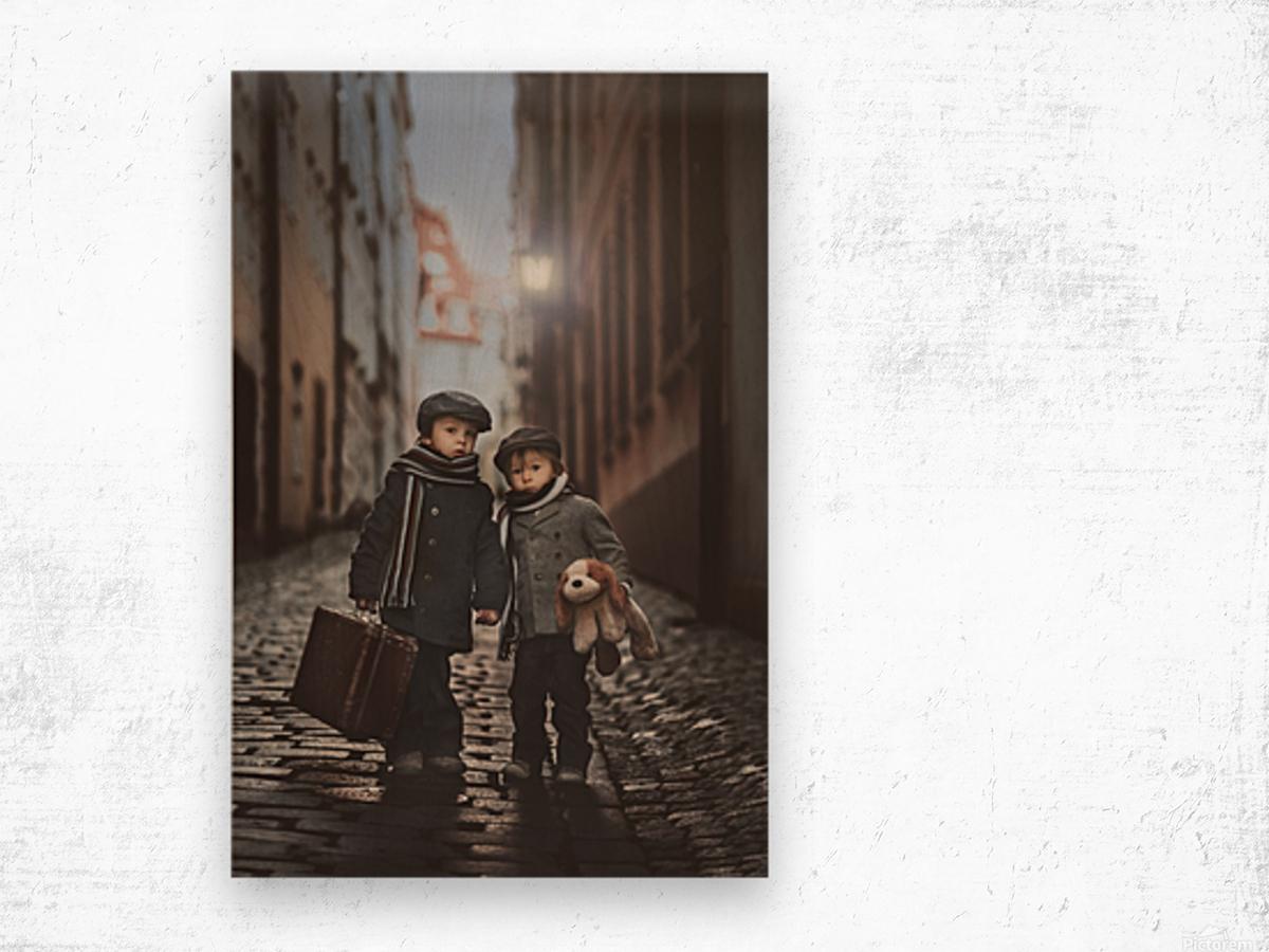 Les MisA©rables Wood print