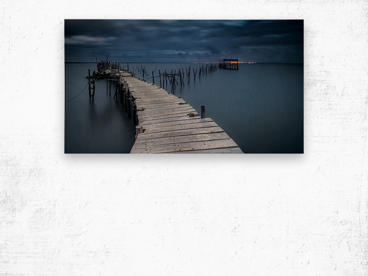 Carrasqueira Wood print