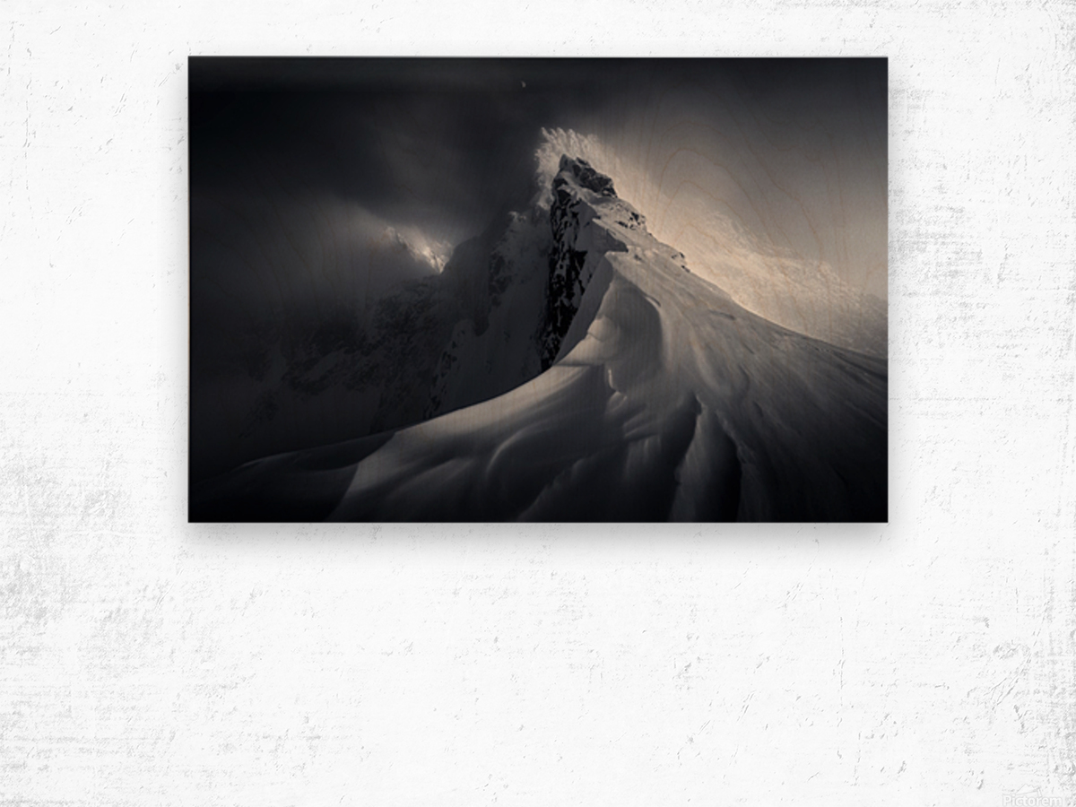 Crown of High Tatras Wood print