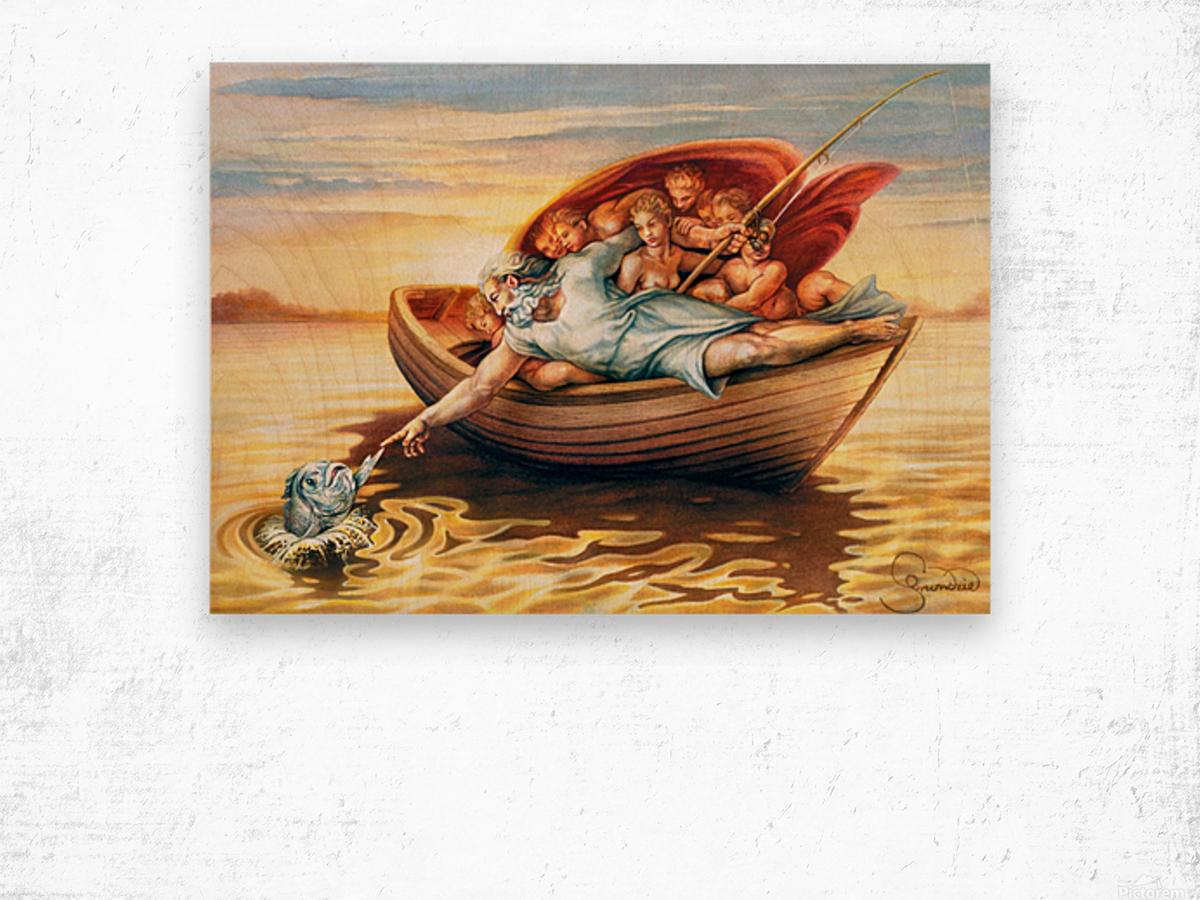 18 Krzysztof Grzondziel Wood print