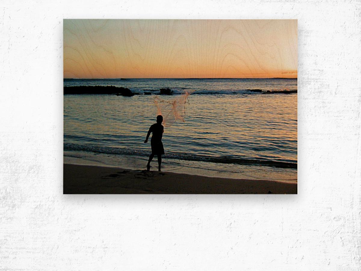 Sunset30 Wood print